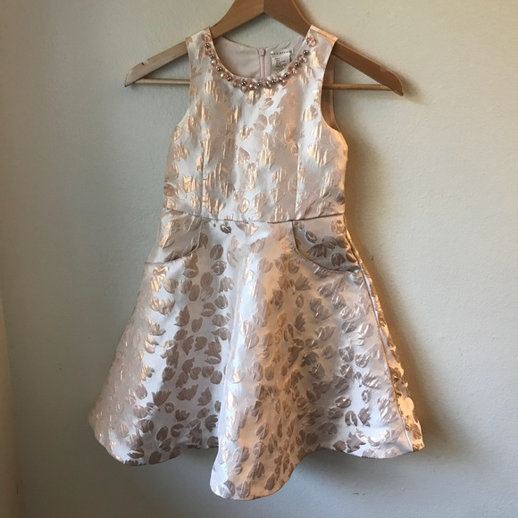 1c2ddccdfca Little Girls Rose Gold Max Studio Dress Size 7
